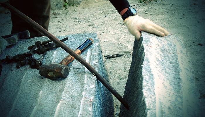 採石加工について