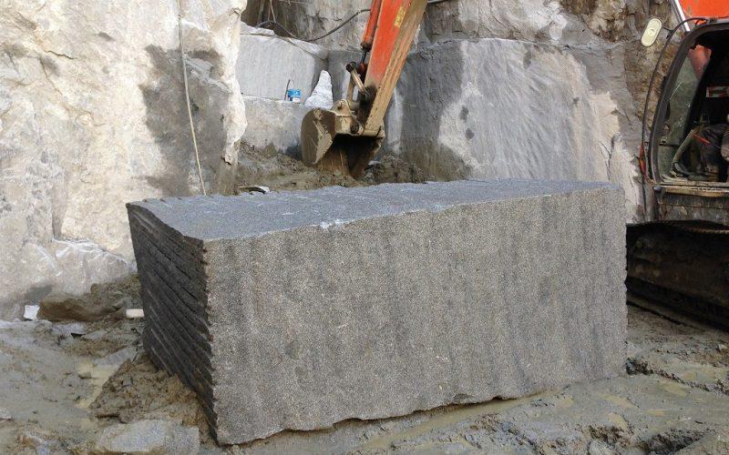 大島石の丁場・採掘場