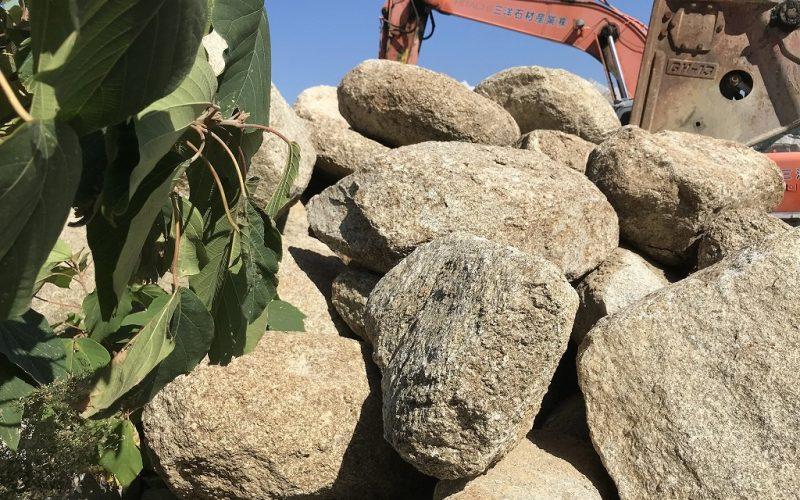 大島石の玉石・さび石